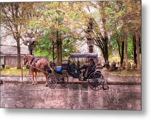 Carriage Rides Series 03 Metal Print