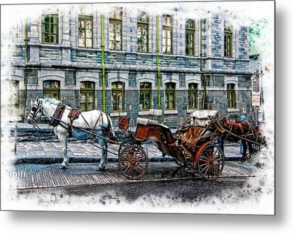 Carriage Rides Series 06 Metal Print
