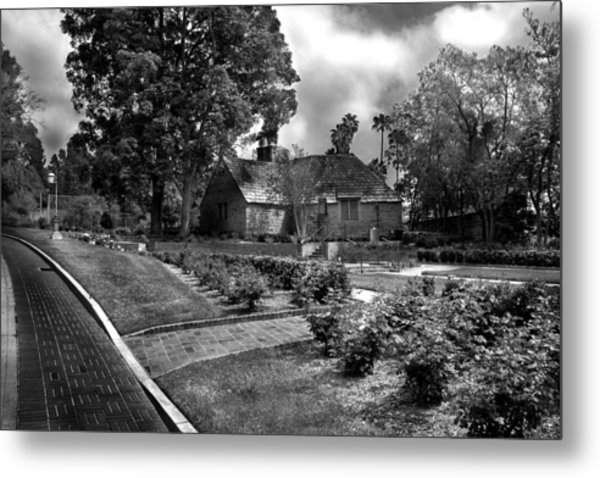 Carriage House Keeper By Denise Dube Metal Print