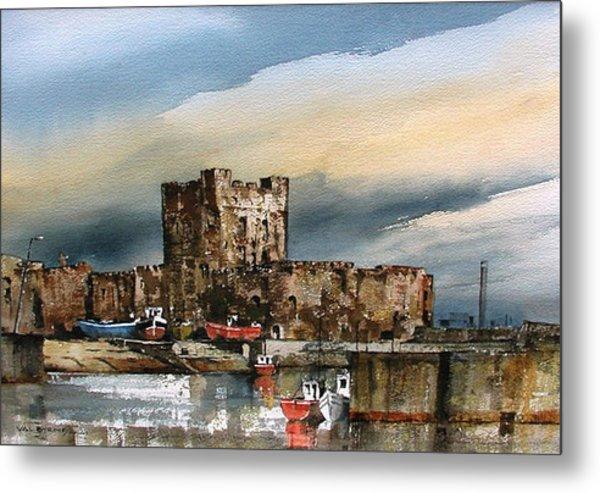 Carrickfergus Castle  County Antrim Metal Print