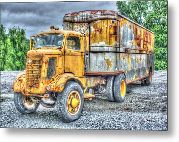 Carrier Metal Print