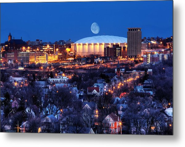 Carrier Dome Metal Print