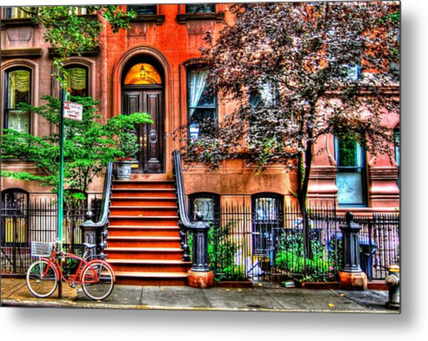 Carrie's Place - Sex And The City Metal Print