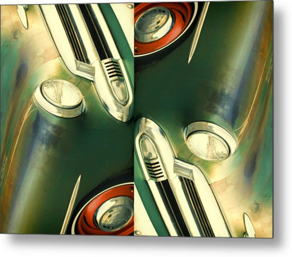 Carschach011 Metal Print by Tony Grider
