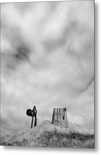 Cart Art No. 10 Metal Print