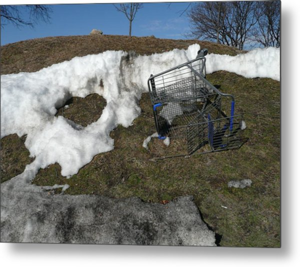 Cart Art No. 19 Metal Print
