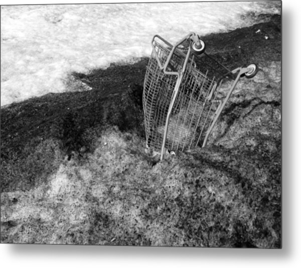 Cart Art No. 9 Metal Print