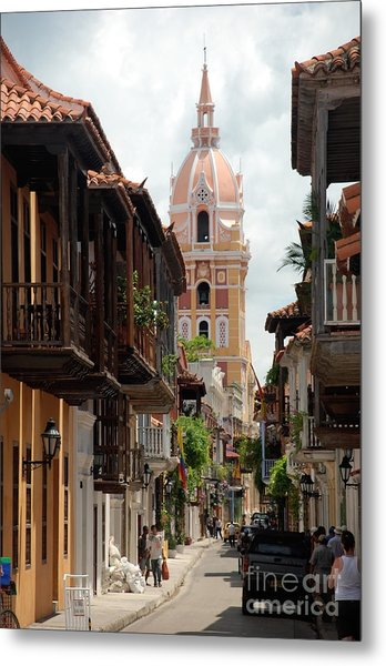 Cartagena Metal Print