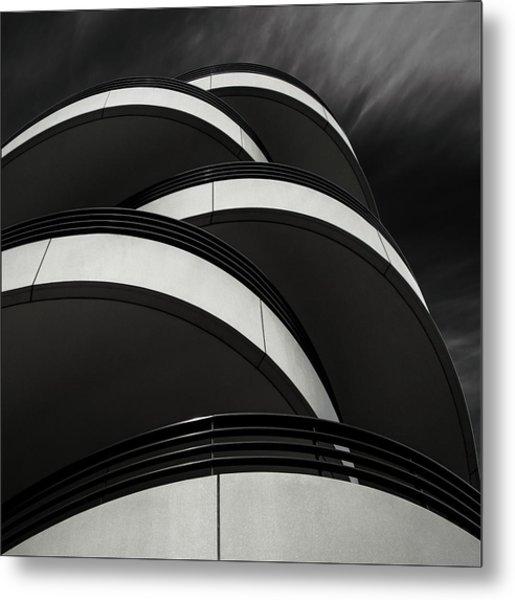 Cascade Balcony Metal Print