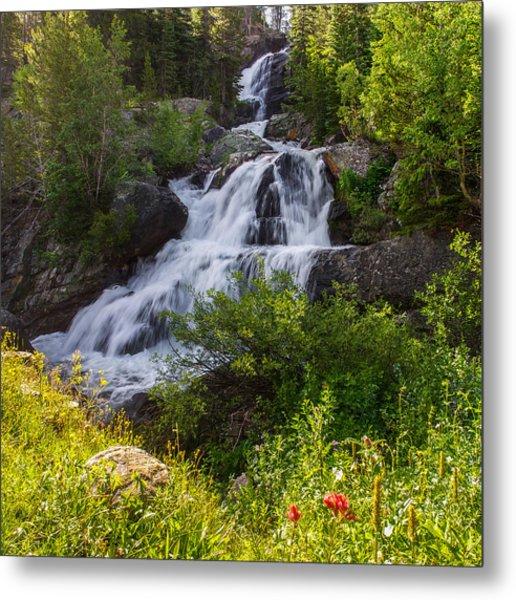 Cascade Falls - Indian Peaks Wilderness Metal Print