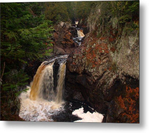 Cascade River Metal Print