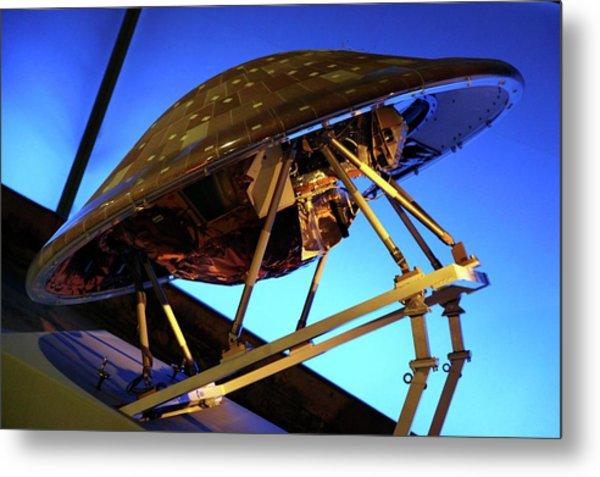 Cassini-huygens Spacecraft Metal Print by Detlev Van Ravenswaay