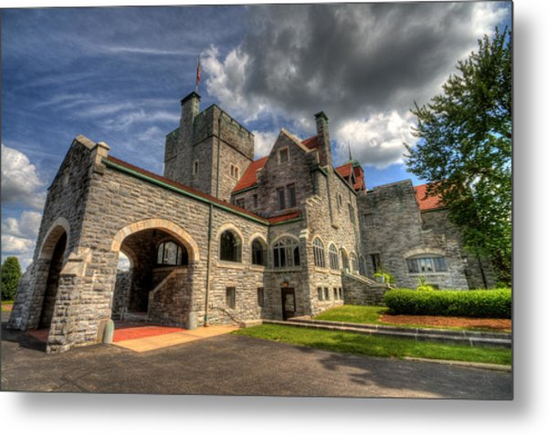 Castle Administration Building Metal Print