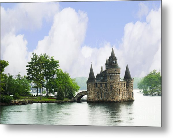 Castle In The St Lawrence Seaway Metal Print
