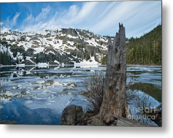 Castle Lake At Dawn Metal Print