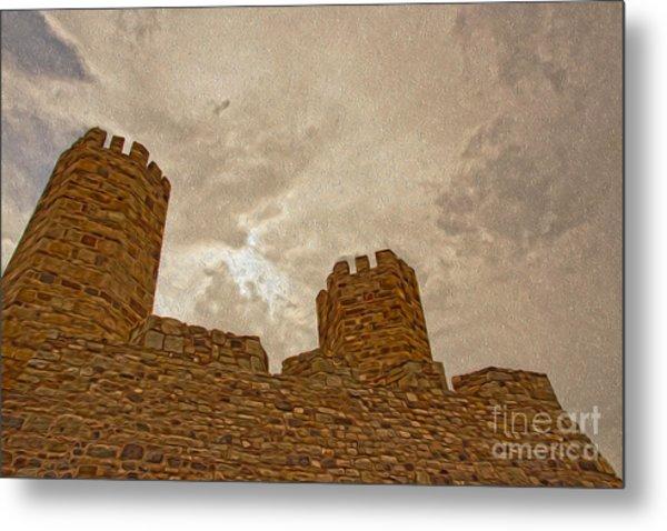 Castle  Metal Print by Nur Roy