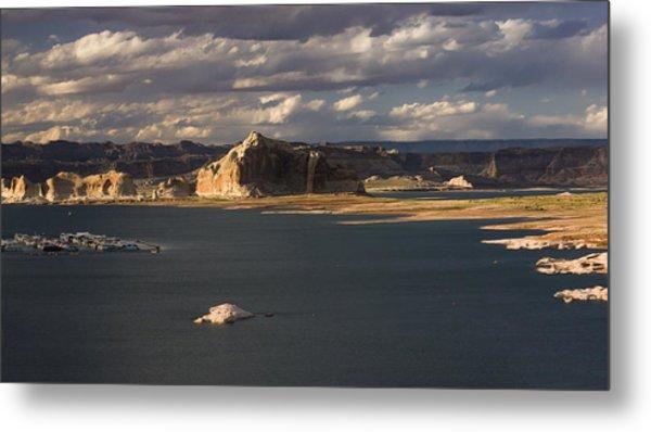 Castle Rock Sunset Metal Print