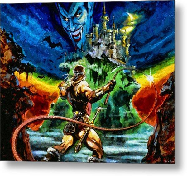 Castlevania Metal Print