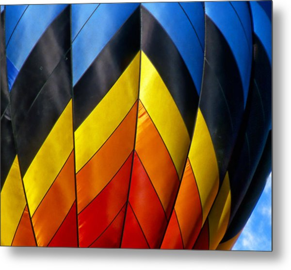 Catching The Light And The Wind Metal Print by Ken Evans