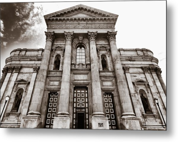 Cathedral Basilica Of Saints Peter And Paul - Philadelphia Metal Print