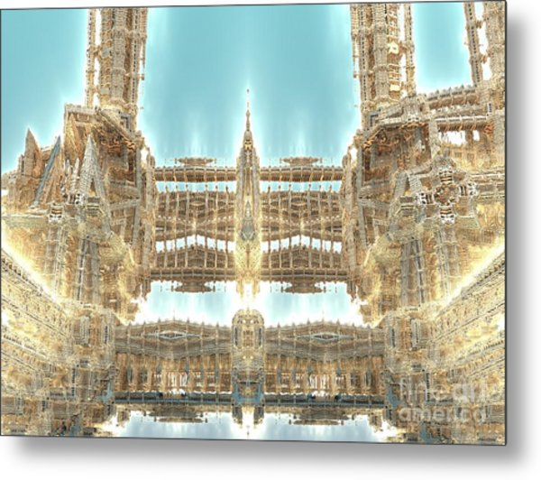 Cathedral Metal Print by Bernard MICHEL