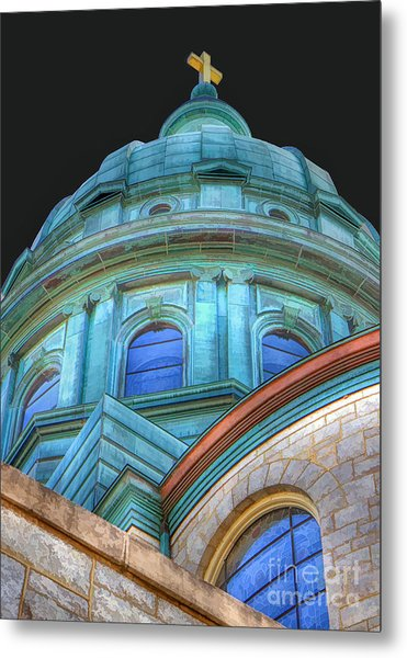 Cathedral Dome Metal Print