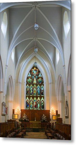 Cathedral Interior Metal Print
