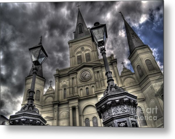 Cathedral New Orleans Metal Print