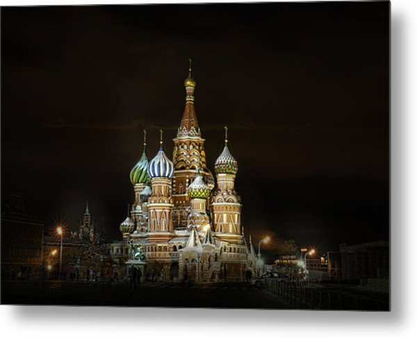 Cathedral Of Basil The Blessed Metal Print