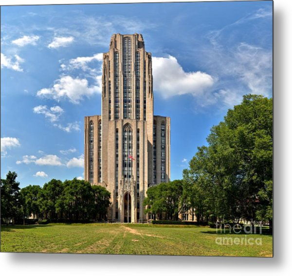 Cathedral Of Learning Pittsburgh Pa Metal Print