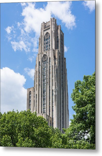 Cathedral Of Learning - Pittsburgh Pa Metal Print