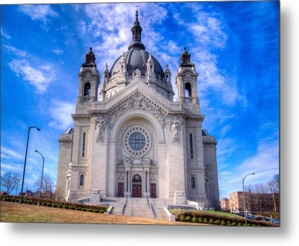 Cathedral Of Saint Paul Metal Print