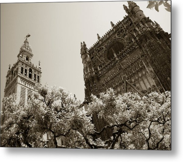 Cathedral Of Seville Metal Print