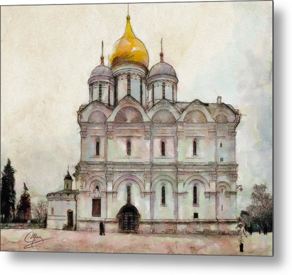 Cathedral Of The Archangel Metal Print