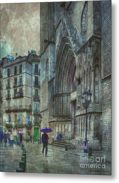Cathedral Of The Sea Metal Print