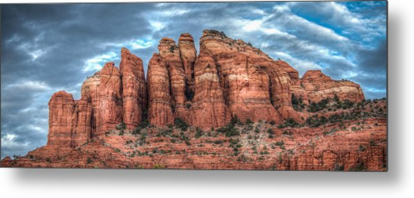 Cathedral Rock Metal Print