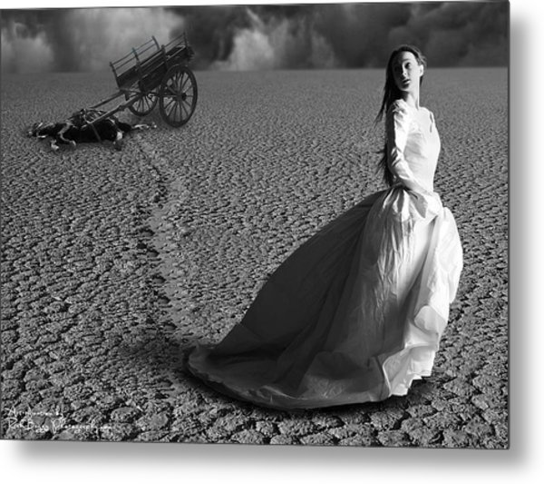 Caught In A Storm Metal Print by Rick Buggy
