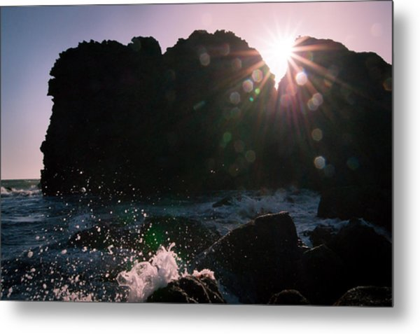 Caught In The Star Light Metal Print