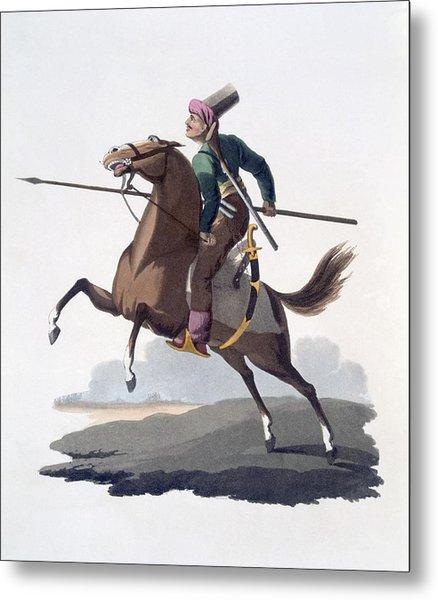 Cavalry Man, 1818 Metal Print