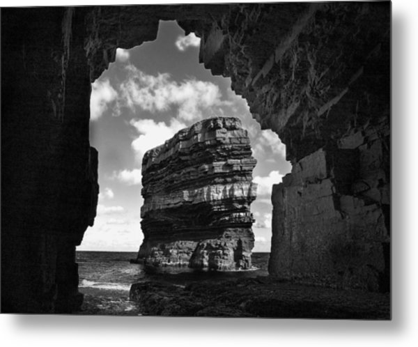 Cave With A View Metal Print by Tony Reddington