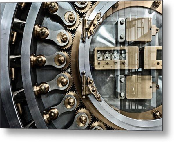Cbot Vault Door Metal Print by James Howe