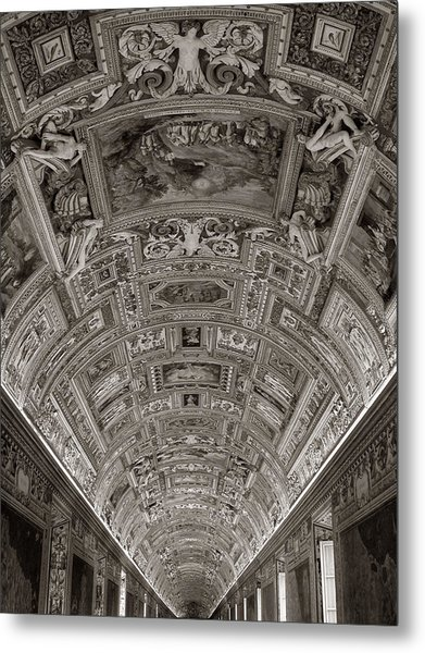 Ceiling Of Hall Of Maps Metal Print