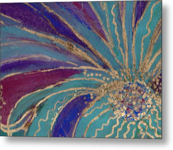 Celebration IIi Metal Print by Anne-Elizabeth Whiteway