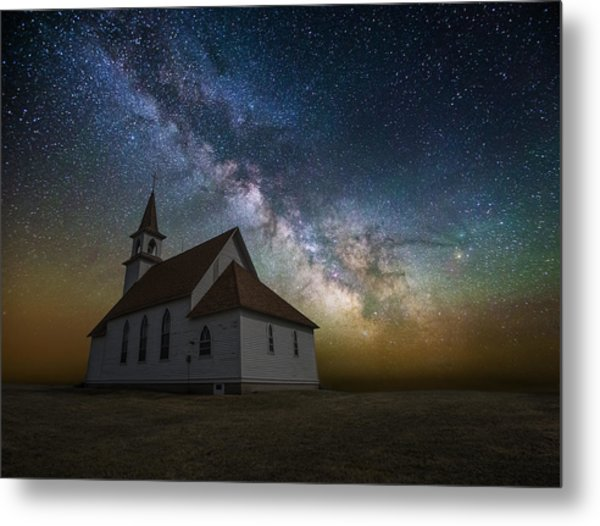 Metal Print featuring the photograph Celestial by Aaron J Groen
