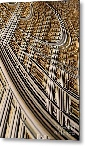 Celestial Harp Metal Print