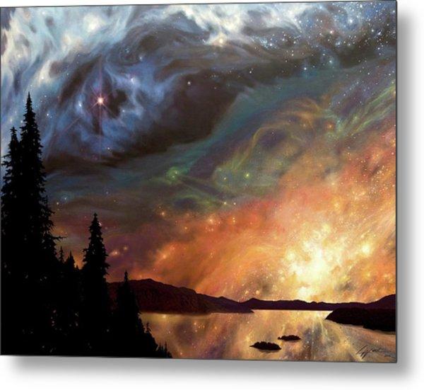 Celestial Northwest Metal Print
