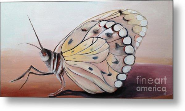 Celine's Butterfly Metal Print