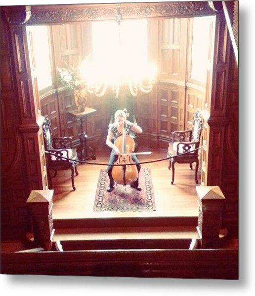Cello Suite No. 1 G Major Craigdarroch Metal Print