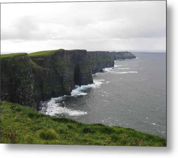 Celtic Cliffs Metal Print