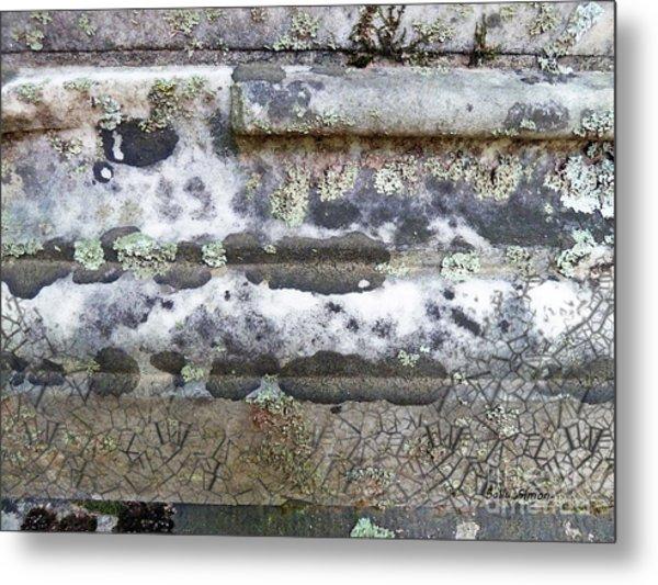 Cemetary Rock 1 Metal Print